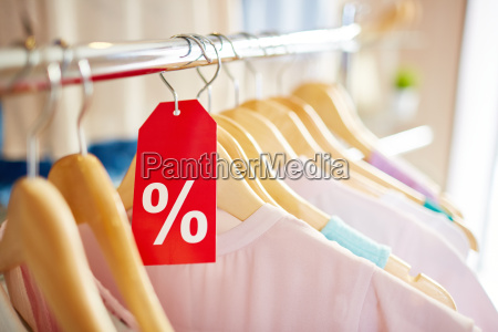 sale of clothes