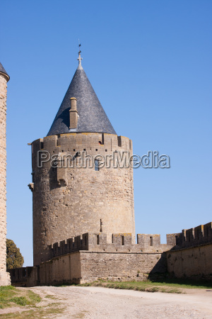 tower of the medieval town in
