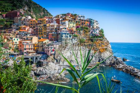 cinque terre italien manarola bunten