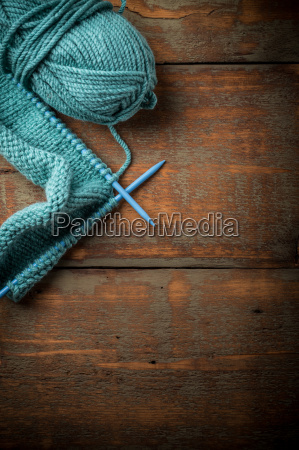 yarn and knitting