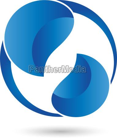 logo wassertropfen tropfen zwei tropfen