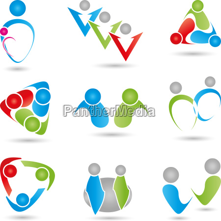 logo menschen personen