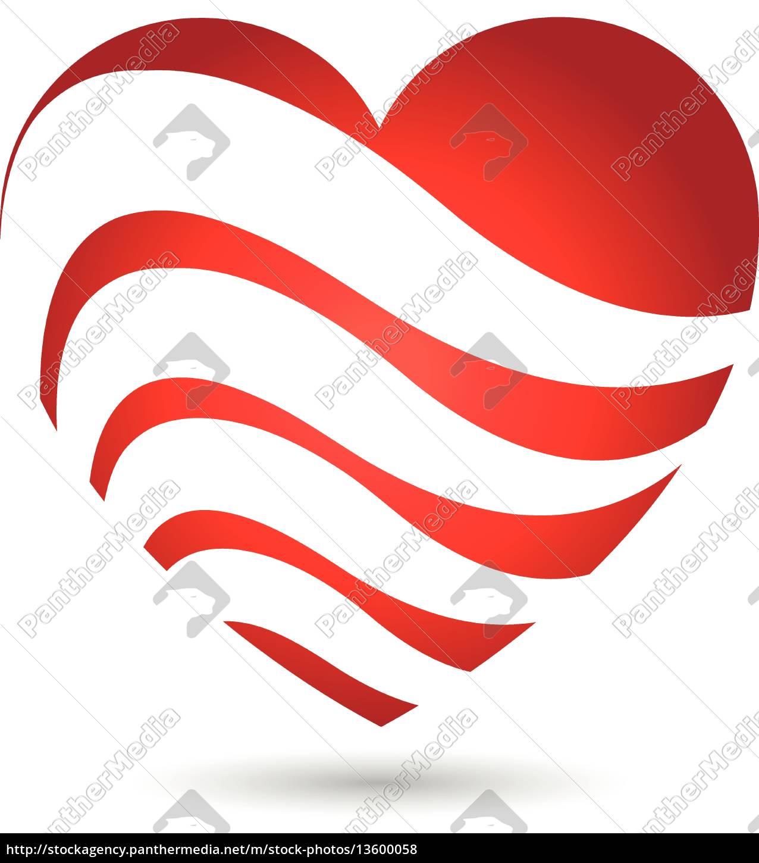 Logo herz herzchen icon stock photo 13600058 bildagentur panthermedia - Herzchen bilder ...