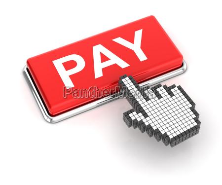 mit einem klick auf pay taste