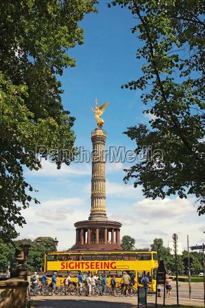 sieges deutschland berlin siegessaeule deutschland