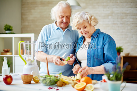senior vegetarier