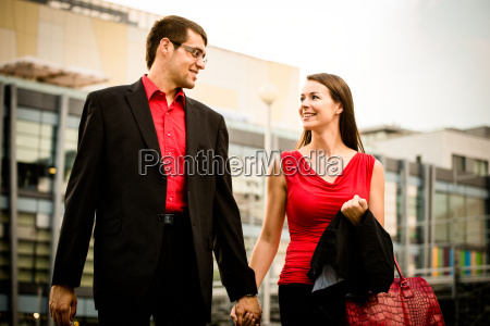 walking street business people