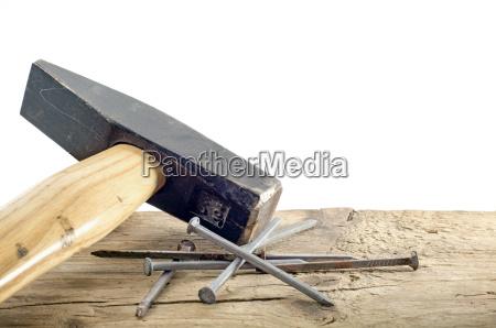 werkzeug werkzeuge holz handwerkszeug stahl nagel