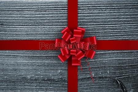 composite bild von red christmas bogen