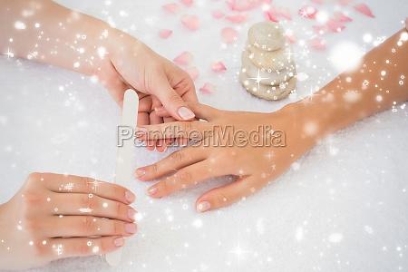 nail techniker einreichung kunden naegel
