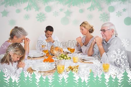 composite bild von familie sagen gnade