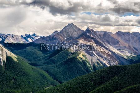 szenische ansicht der rocky mountains bereich