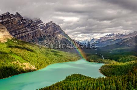 scenic blick auf die berge von