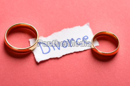 rings on piece of paper with