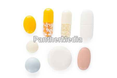 different types of pills