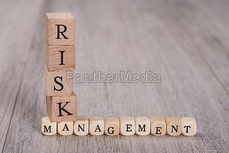 risk management blocks auf tabelle