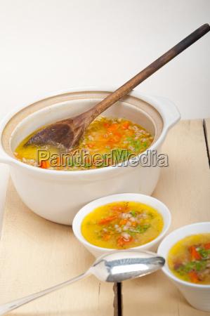 syrische gerstensuppe suppe aleppo stil