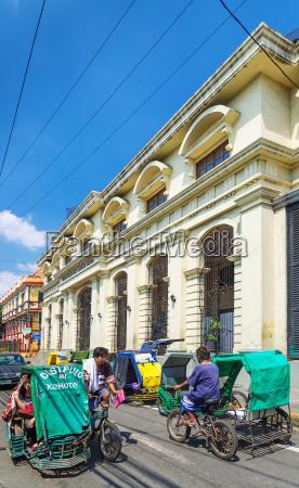 dreirad taxis im historischen intramuros bereich