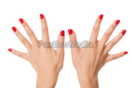 mano dito cura chiodo cura delle