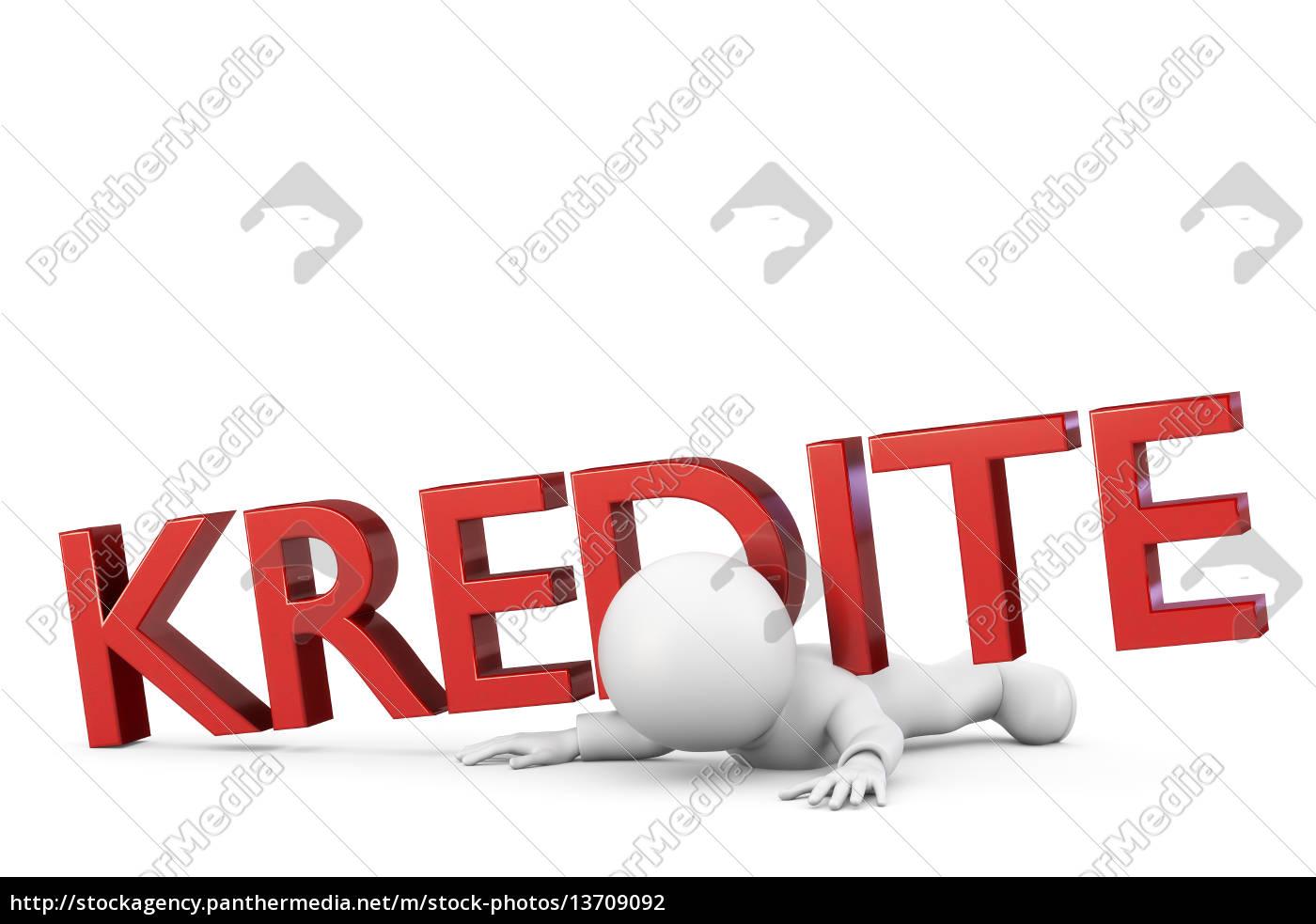 zu, viele, kredite - 13709092
