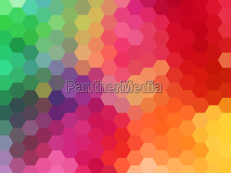 abstract geometric background hexagon pattern