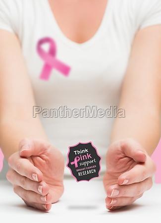frau die brustkrebs frueherkennung nachricht