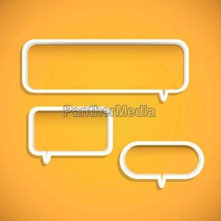 chat bubble shelves