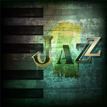 abstract grunge piano background with piano