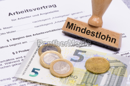 mindestlohn 8 50 euro und arbeitsvertrag