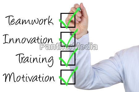 businessman with business concept training innovation