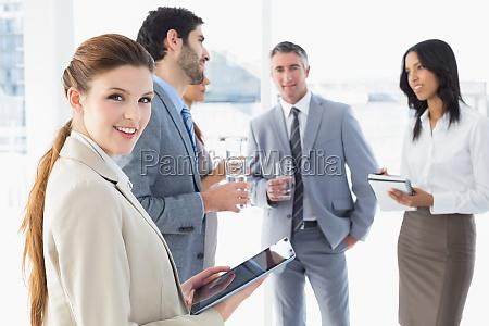 business team ein paar drinks
