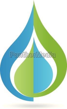 logo wassertropfen tropfen wasser