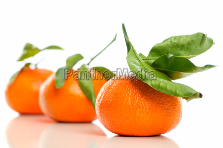 three mandarins