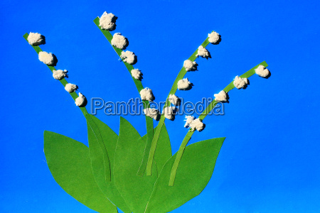 childrens odd flowers of lilies of