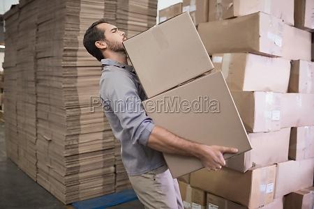 worker boxen in der lagerbuch