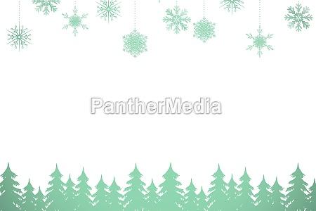 albero inverno abete delicato digitale meteo
