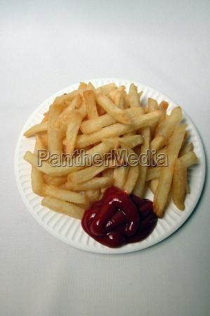 pommes pommesfrites fastfood junk foot schnellimbiss