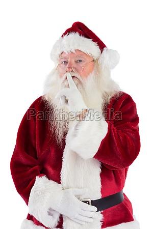 weihnachts um ruhe bittet zur kamera