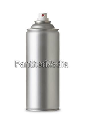 blank aluminiumlackspraydose aerosol spray metallflasche