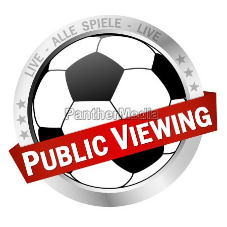 button public viewing
