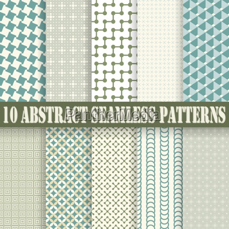 collection seamless abstract backgrounds