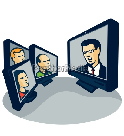 webinar videokonferenz retro