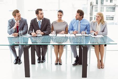 panel of corporate personalverantwortlichen im amt