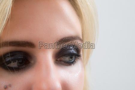 haut augen wimperntusche kosmetik kosmetika hautpflege