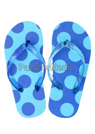 paar flip flop sandalen