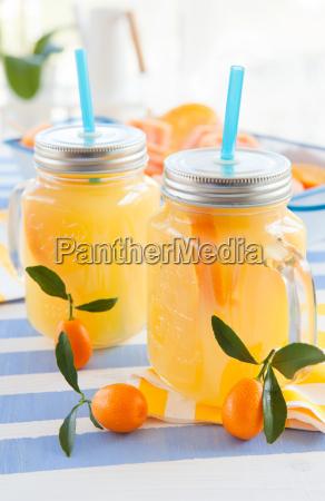 juice in kruegen with kumquats