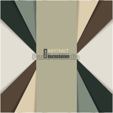 abstract brochure with color stripes and