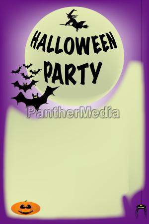 schlaeger halloween plakat