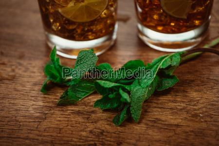 konzept, trinken, -, cocktail, mit, cola - 13926419