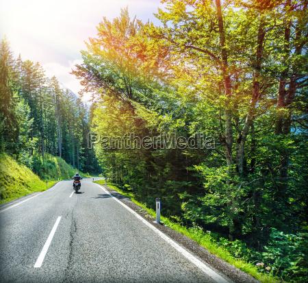 reisen auf dem motorrad